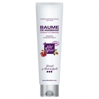 Baume de massage fondant bio - 100 ml