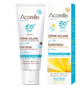 Crème solaire bébé SPF50+ - Nature Sun - 100 ml