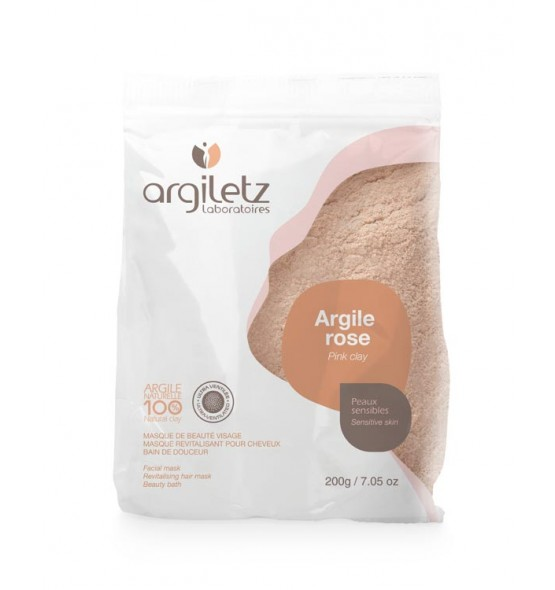Argile rose ultra ventilée - 200gr