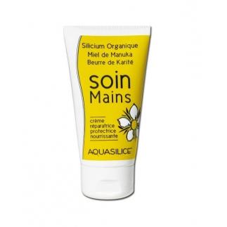 Soins Mains - silicum miel manuka beurre karité - 50 ml
