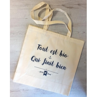 Tote bag bio de la GreenTeam