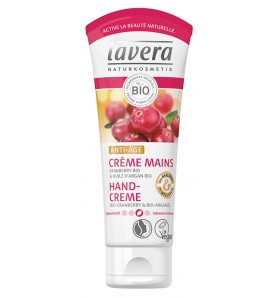 Crème mains anti-âge au cranberry bio