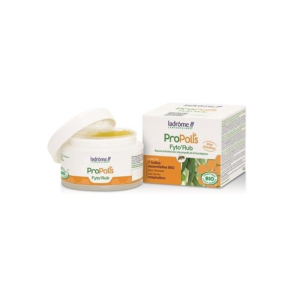 Baume respiratoire à la propolis bio - Fyto' Rub - 45 g
