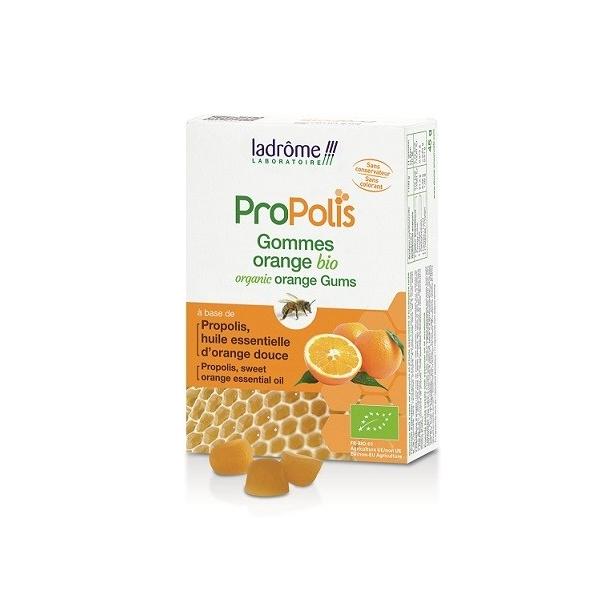 Gommes à la Propolis bio saveur Orange - 45 g