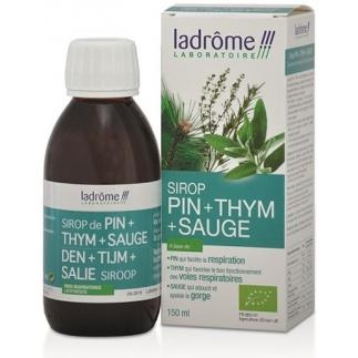 Sirop bio de Pin, Thym, Sauge - 150 ml