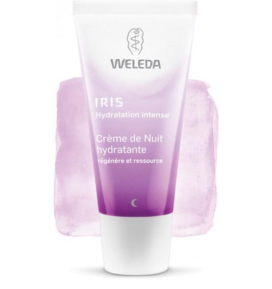Crème de nuit hydratante - Iris - 30 ml