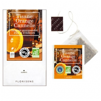 Tisane bio Orange Cannelle
