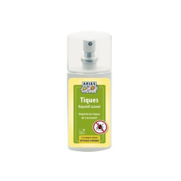 Spray anti-tiques répulsif cutané - 100 ml