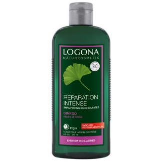 Shampoing réparation intense au Ginkgo - Cheveux secs et abîmés - 250 ml
