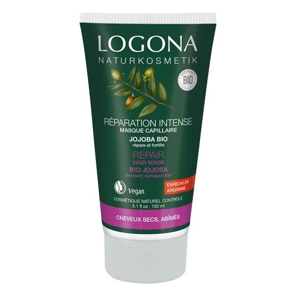 Masque capillaire réparation intense au jojoba bio - cheveux secs abîmés - 150 ml