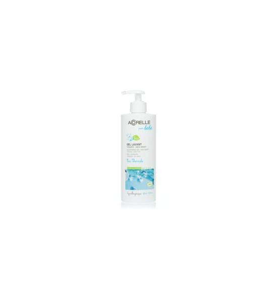 Gel lavant bébé bio corps et cheveux - sans savon - 400ml