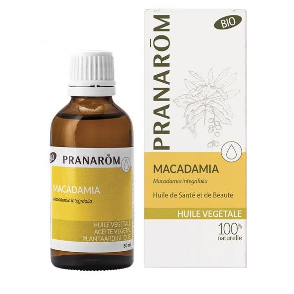 Huile végétale bio de Macadamia - 50 ml