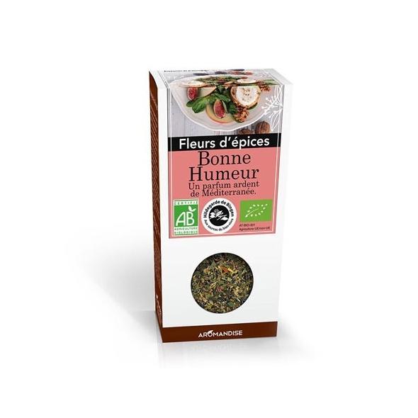 Fleurs d'épices bio - Bonne humeur - 25g