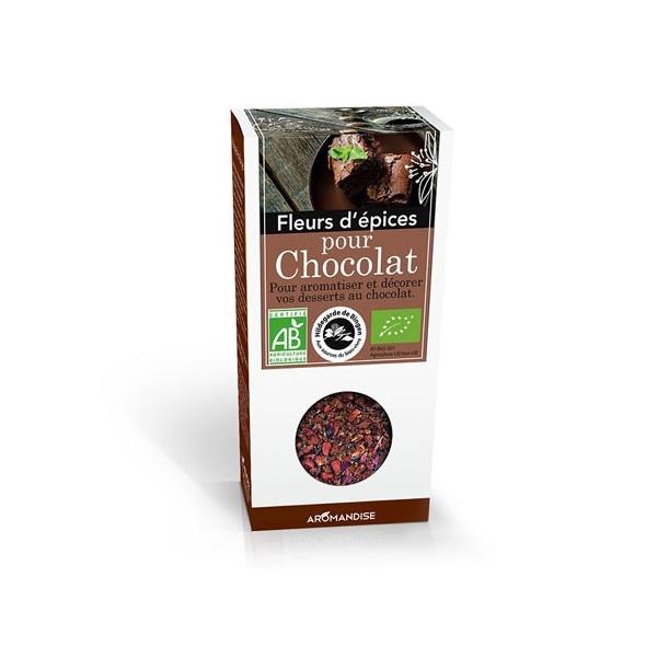 Fleurs dépices bio - Chocolat - 40g