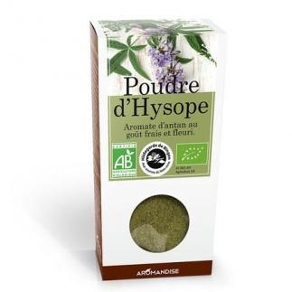 Poudre d'Hysope bio - 25g