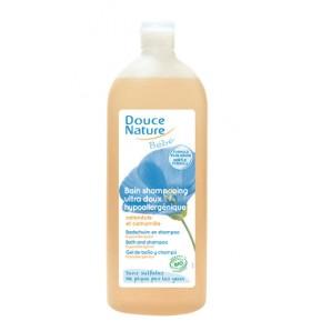 Bain shampooing bébé hypoallergénique - Calendula & Camomille bio