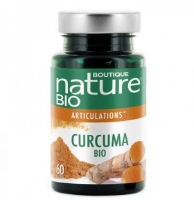 Curcuma bio + poivre noir - Articulations - 60 gélules