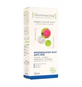 Crème active nuit bio - Régénération anti-âge