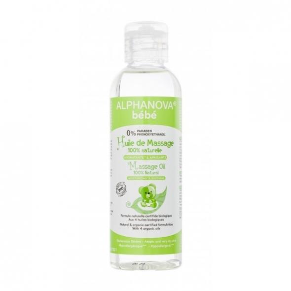 Huile de massage bébé bio - 100 ml
