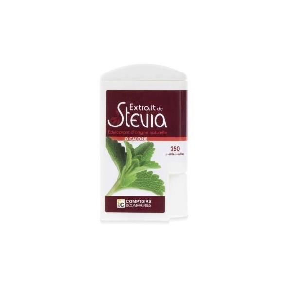 Extrait de Stevia - 250 pastilles