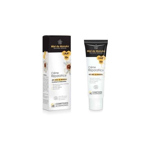 Crème Réparatrice 40% miel de manuka IAA10+ - 40ml