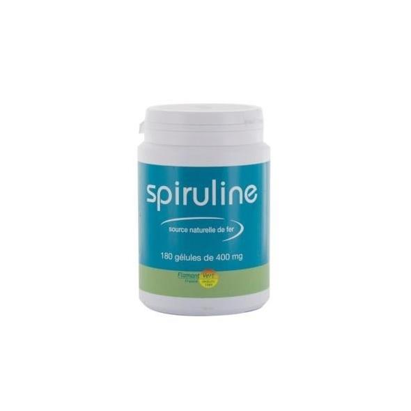 Spiruline - 180 gélules 400 mg