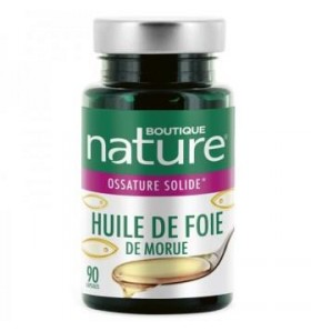 Huile de Foie de morue - Articulations - 90 capsules