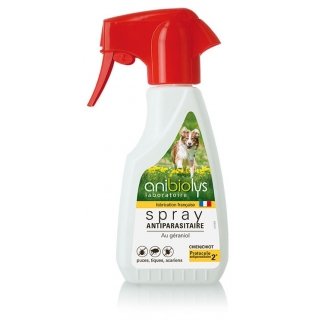 Spray antiparasitaire chien - 250ml