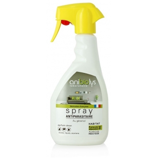 Spray antiparasitaire habitat – 500ml