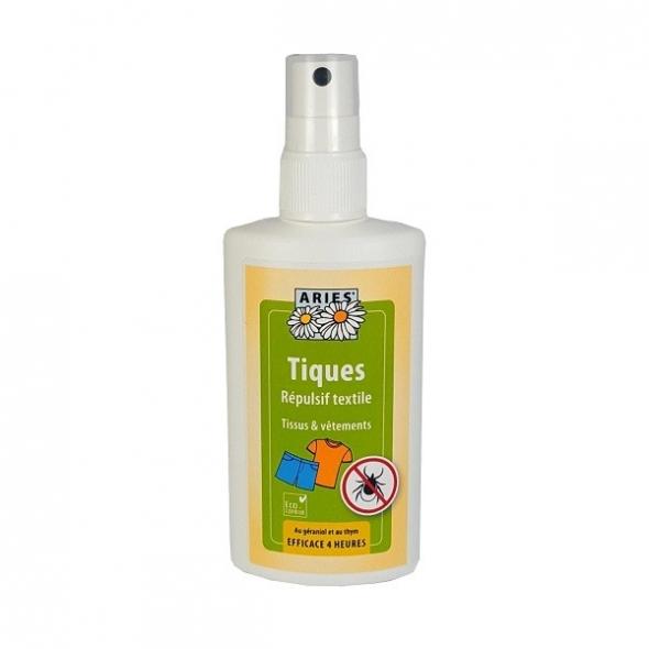 Spray anti-tiques répulsif textile – anti tique – 100ml