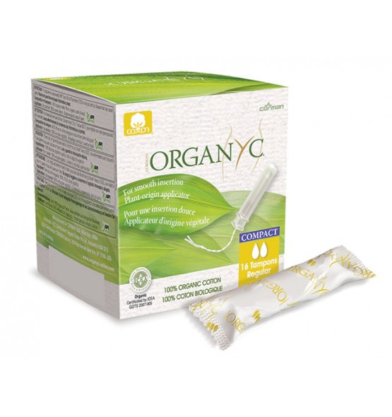 Tampon compact biologique – Boite de 16 tampons