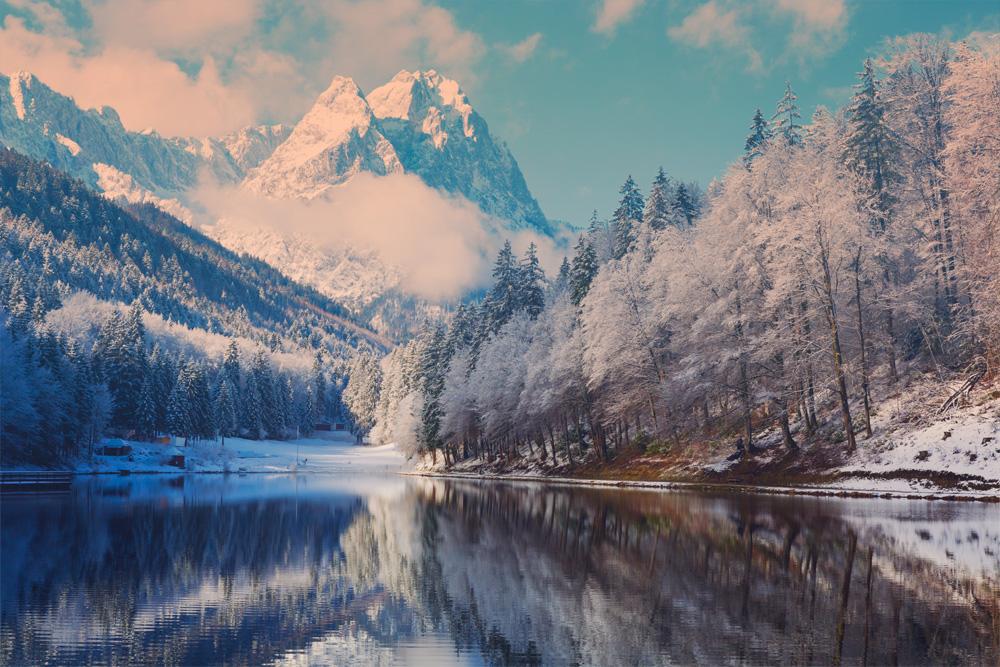 paysage-enneigé