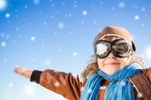 ski enfant neige