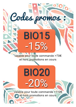 -20% sur toute la cosmétique bio en ligne avec le code BIO20
