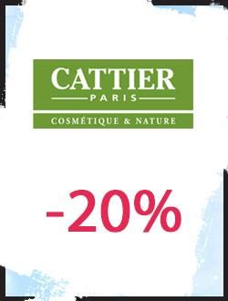 -20% sur les produits Cattier