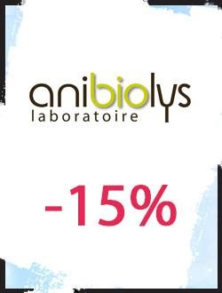 -15% sur les produits bio pour animaux Anibiolys