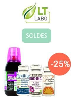 -25% sur les compléments LT Labo