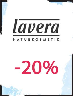 -20% sur toute la marque Lavera