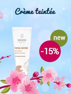 -15% sur la crème teintée Weleda